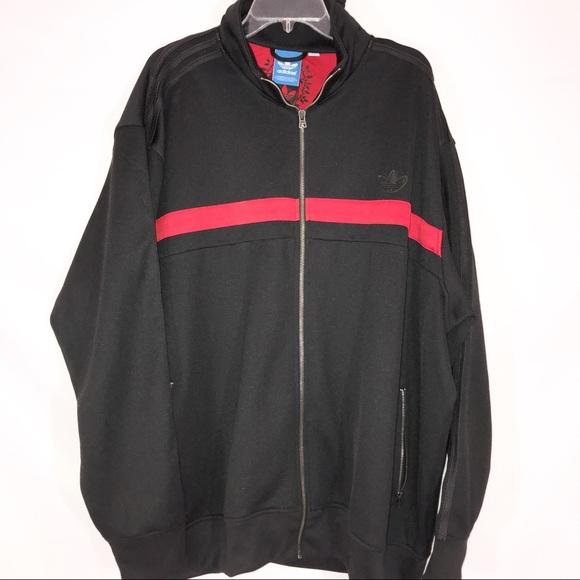 3xl Adidas Track Black Jacket Gioia v8OmynNP0w